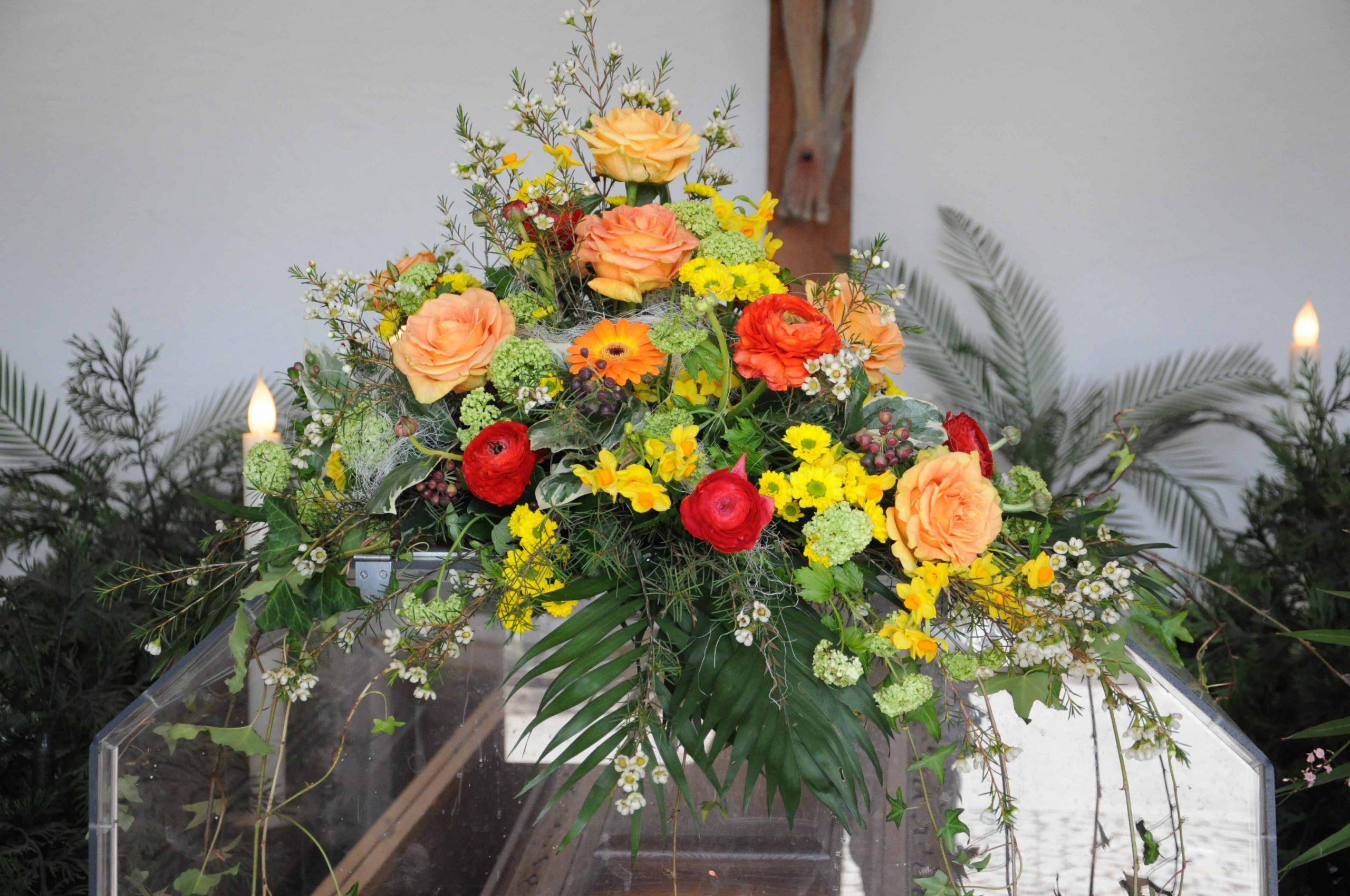 09 Sargbukett gelb-orange