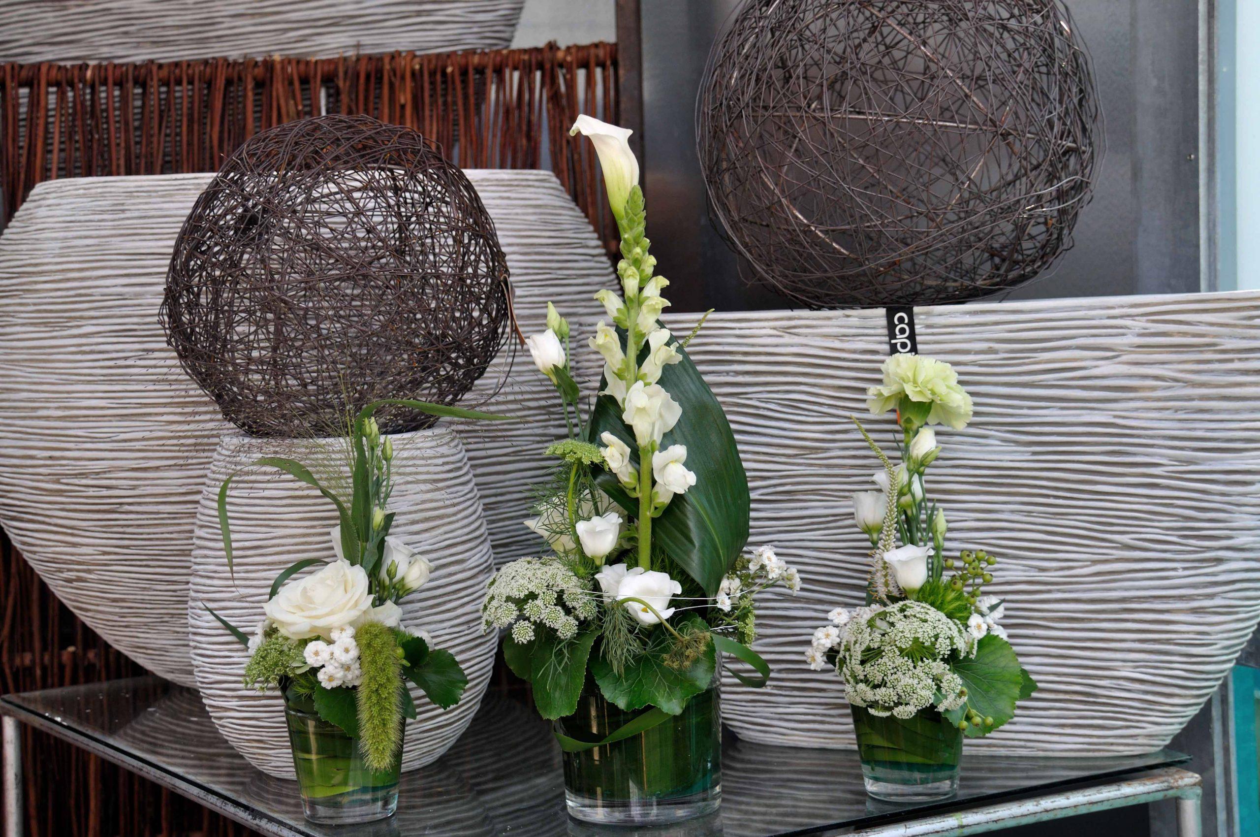 Vasenfüllung weiß-grün